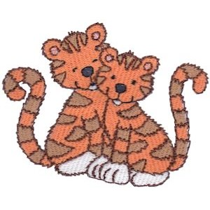 Cuddly Tiger 12
