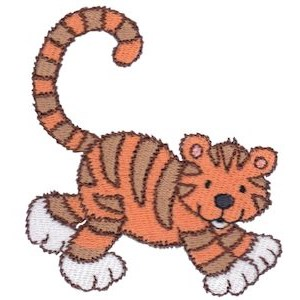 Cuddly Tiger 2