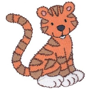 Cuddly Tiger 6