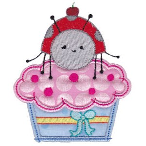 Cupcake Critters Applique 1