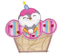 Cupcake Critters Applique 10