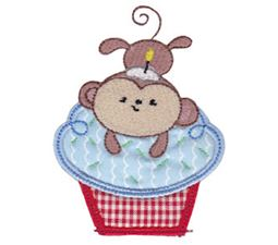 Cupcake Critters Applique 13