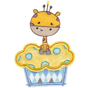 Cupcake Critters Applique 14