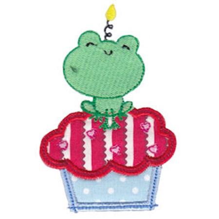 Cupcake Critters Applique 3
