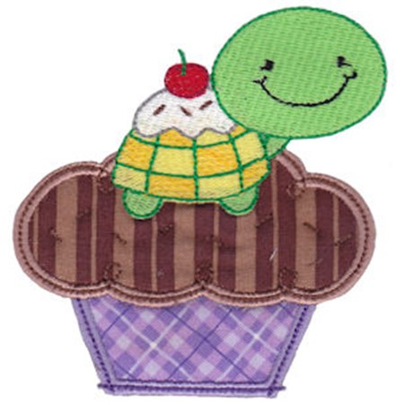 Cupcake Critters Applique 4