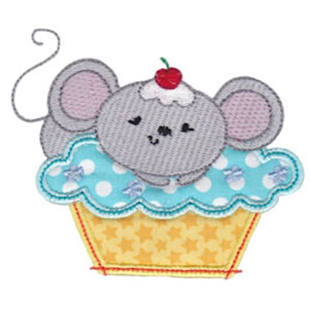 Cupcake Critters Applique 5