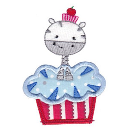 Cupcake Critters Applique 6