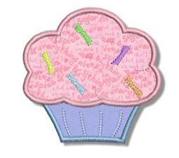 Cupcakes Applique 2