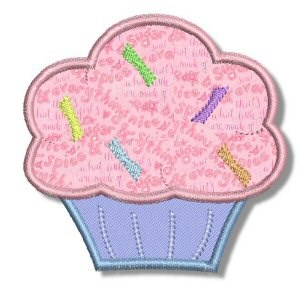 Cupcakes Applique 2