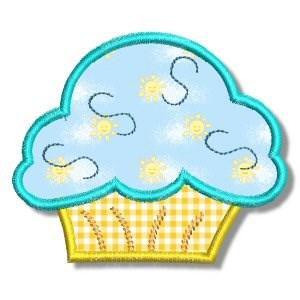 Cupcakes Applique 4