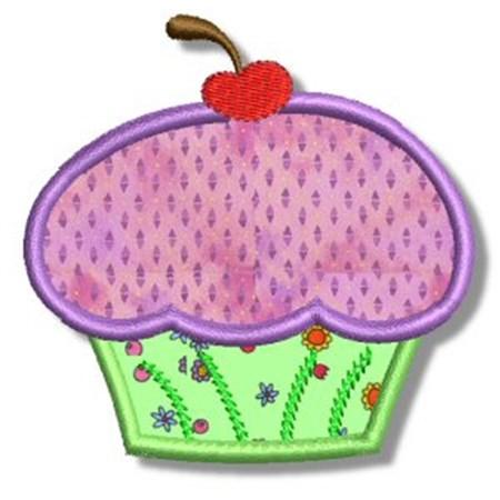 Cupcakes Applique 5
