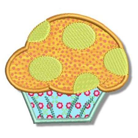 Cupcakes Applique 6