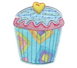 Cupcakes Applique Too 1
