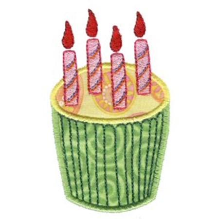 Cupcakes Applique Too 10