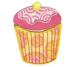 Cupcakes Applique Too 2