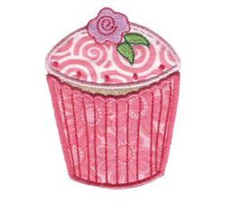 Cupcakes Applique Too 3