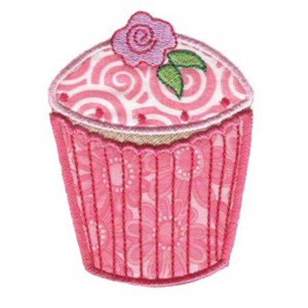 Cupcakes Applique Too 3