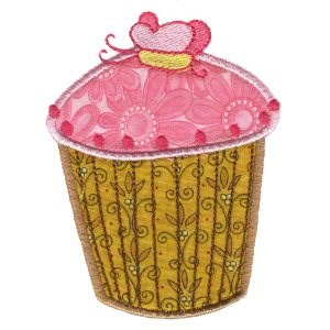Cupcakes Applique Too 4