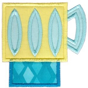 Cup Collection Applique 10