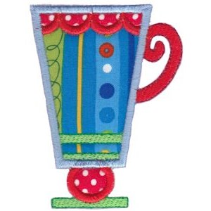 Cup Collection Applique 12