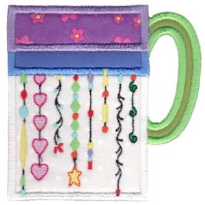 Cup Collection Applique 6