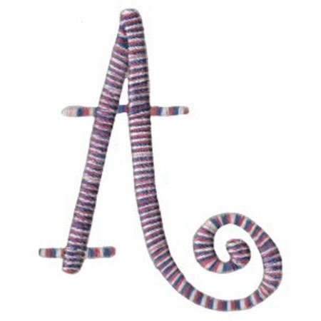 Curlz Alphabet A