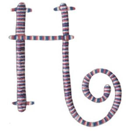Curlz Alphabet H