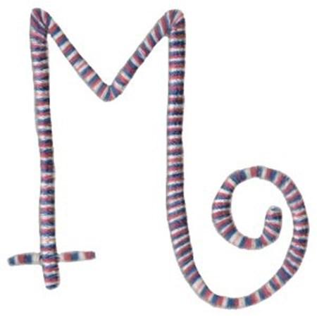 Curlz Alphabet M