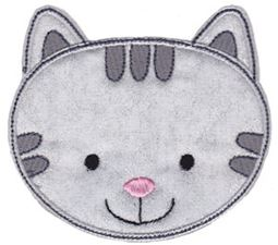 Cute Animal Faces Applique 6