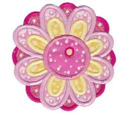 Cute Flower Applique 1