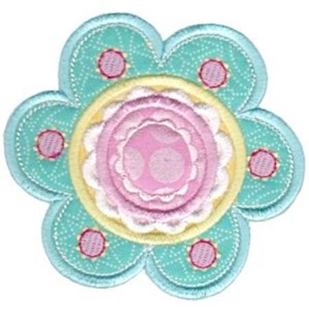 Cute Flower Applique 12