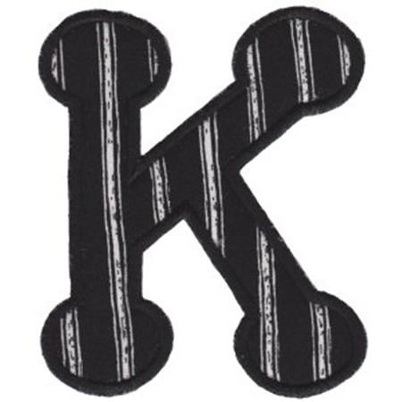 Cute Greek Alphabet Applique 10