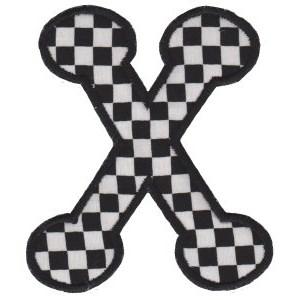 Cute Greek Alphabet Applique 3