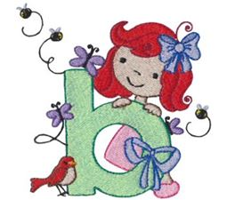 Cuties Alphabet B