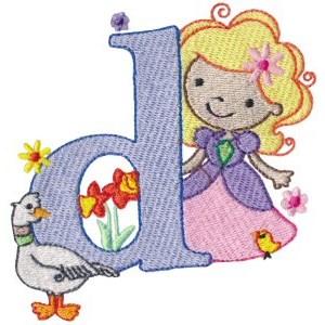 Cuties Alphabet D