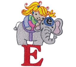 Cuties Alphabet E