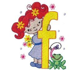 Cuties Alphabet F
