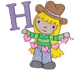 Cuties Alphabet H