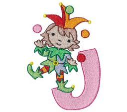 Cuties Alphabet J