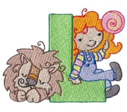 Cuties Alphabet L