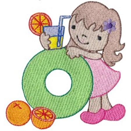 Cuties Alphabet O