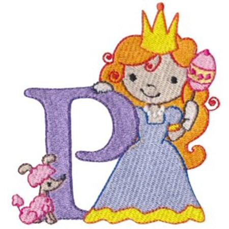 Cuties Alphabet P