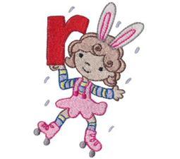 Cuties Alphabet R