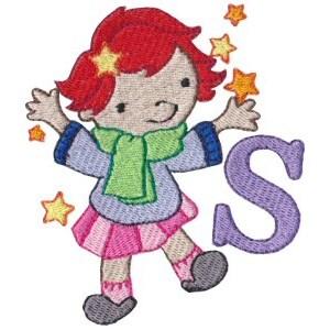 Cuties Alphabet S