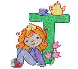 Cuties Alphabet T