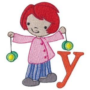 Cuties Alphabet Y