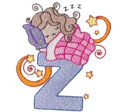 Cuties Alphabet Z