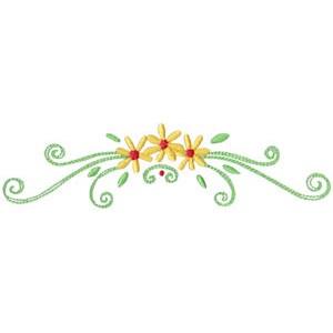 Daisy Swirls 11