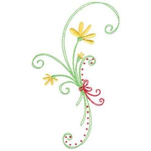 Daisy Swirls 12