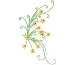Daisy Swirls 15